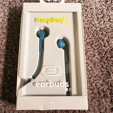New heyday Teal Wired Earbuds with Mic and Remote