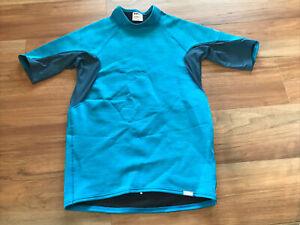NRS Mystery Titanium short sleeve neoprene wetsuit shirt Mens Large