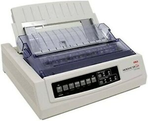 OKI MicroLine ML320T Turbo Plus 9 Pins USB/Parallel 80 Column Dot Matrix Printer