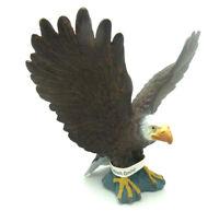 K33) Schleich Adler Weißkopf Seeadler (16707) Adler landend  TOP Tierfigur