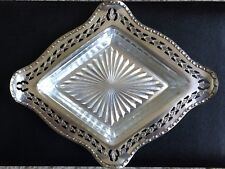 Antique, Silver Plated ('EPNS A1'), Pierced Bon Bon Dish withcut Glass Liner