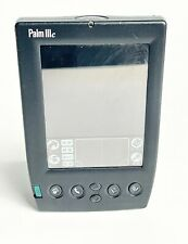 Palm Iiic Black Handheld Pda Organizer Device with Pencil & wihtout Flip Cover