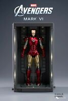"Zd Toys 18cm Iron Man 2 Mark VI MK6 7"" Diecast Action Figure Collection Toys"