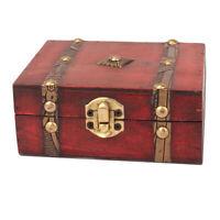 Holz Schmuckbox Schmuckschatulle Uhrenbox Vintage Schmuckkasten Schmuckkästchen