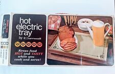 Vintage Electric Warming Tray by Cornwall, 1973
