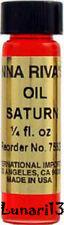 Saturn, Oil, 1/4 oz, Anna Riva, Lunari13, Wicca, Santeria, Brujeria, Spells