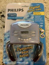 Philips Digital Stereo Am/Fm Radio Cassette Player Portable Aq 6691 New Unopened