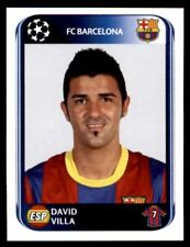 Panini Champions League 2010-2011 David Villa FC Barcelona No. 225