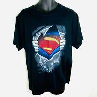 NASCAR's #48 Jimmie Johnson VTG Superman T-Shirt Men's Limited Print Size Large