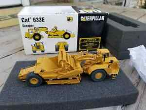 CAT Caterpillar 633E Scraper 1:87 Scale CCM Brass #178/1000 Limited Edition
