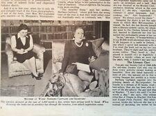 g1f 1948 ephemera article mayfair bride raine mccorquodale barbara cartland