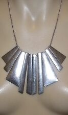 SILVER PLATED FASHION NECKLACE 'ANTIQUE SILVER'