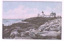 Eastern Point Lighthouse Cape Ann Massachusetts 1910c postcard
