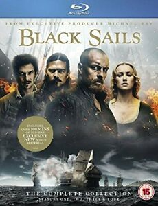 Black Sails: The Complete Collection (Seasons 1-4) [Blu-ray] [DVD][Region 2]