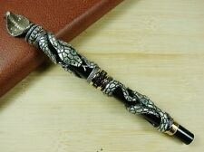 Jinhao Snake Fountain Pen Vintage Black Cobra 3-dimensional Pattern Office Gift