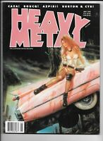 Heavy Metal Magazine Vol 22 #2 May 1999 Caza Azpiri Boucq Royo VF- 1977 Series