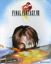 Final Fantasy 8 VIII!!! edición alemana PC salida top con manual