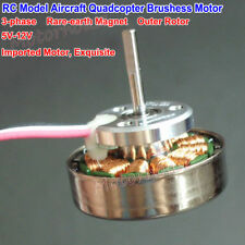 5v 12v 3 Phase Brushless Dc Motor High Speed Outer Rotor Diy Rc Model Aircraft