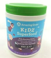 Amazing Grass Kidz Superfood Berry Blast, 6.35oz
