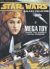 Topps Star Wars Galaxy Collector Magazine #7 Royal Starship SW Celebration I