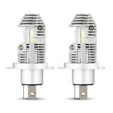 1Pair H4/9003/HB2 LED Headlight Bulbs 6000K Bright White Hi/Lo Beam Headlamp Set