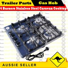 Superior 4 Burners Stainless Steel Caravan Cooktop Camper Trailer Camping Stoves