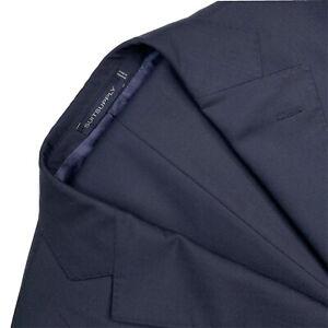 "40 R Suitsupply X V.B.C.  "" Perennial "" Royal Navy Blue Slim Fit Wool Suit RZ"