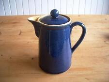 Denby Cottage Azul cara recta café, chocolate o agua caliente Olla - 1.5 litros