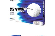 TaylorMade Distance Plus Golf Balls (One Dozen) White