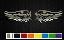 (2) BIRD WINGS Vinyl Decal Set  - CUSTOM SIZE & COLOR for TRUCKS, CARS