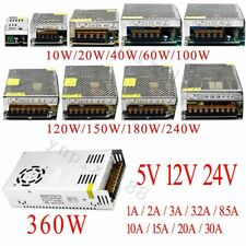 AC 220-240V TO DC12V 24V 48V 10W~1000W Transformer Regulated Switch Power Supply