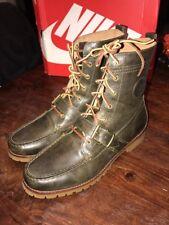 Polo Ralph Lauren Ranger Boots Deep Olive New Size 10.5 Men's