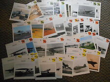 Germany German Fighters Military Warplanes Aircraft Lot 45 History Photo Cards