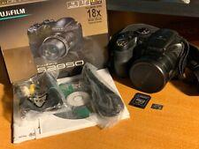 Fujifilm Finepix S2950 14.0MP Digital Camera + SD Card
