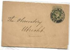 KGV 1905 Imprinted Cover Postmarked Glasgow