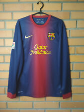 Barcelona Home 2012 - 2013 Size M jersey soccer football shirt Nike Long Sleeve