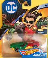 HOT WHEELS  DC ROBIN CHARACTER CARS VERY RARE NEW