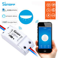 Sonoff Smart WiFi Wireless Home Switch Module for Phones Works With Alexa & Nest