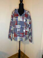 Sergenticatalog.com Patchwork Zippered Lightweight Jacket Size 1X