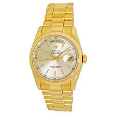 ROLEX 36mm 18K Yellow Gold Day Date President 118208 118238 Warranty 2001 MINTY