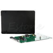 """Mini PCI-E mSATA SSD to 2.5"""" SATA 3 adapter with 7 mm thickness case"""