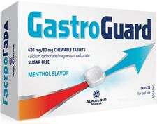 2x Gasto Guard against gastric acid and stomach problems 2x16 Chewable Tablets