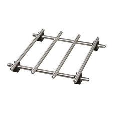 Ikea Lamplig plan de travail protection dessous de plat pot pan support acier in...