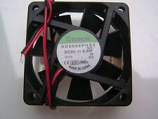 Sunon KD0506PHS2 5VDC Brashless Fan 0.9W 60x60x15mm OL0409