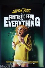 A FANTASTIC FEAR OF EVERYTHING ORIGINAL 1 SHEET POSTER SIMON PEGG CRISPIAN MILLS