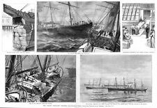 SHIP WRECK COLLISION OF THE CELTIC AND BRITANNIC DISASTER, STEAM-TUG FLETCHER