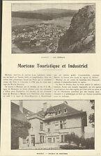 25 MORTEAU ARTICLE DE PRESSE PERTUSIER PANNETON 1923