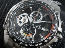 CASIO EDIFICE Chronograph 100M EF543D-1A EF-543D-1A Free Ship !