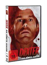 4 DVDs * DEXTER - STAFFEL / SEASON 5  # NEU OVP