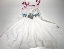Cakewalk Girls Kids New STRAP DRESS w/ FLOWER / GOLD LEAVES Sz: 4 RTL: $99 Q260